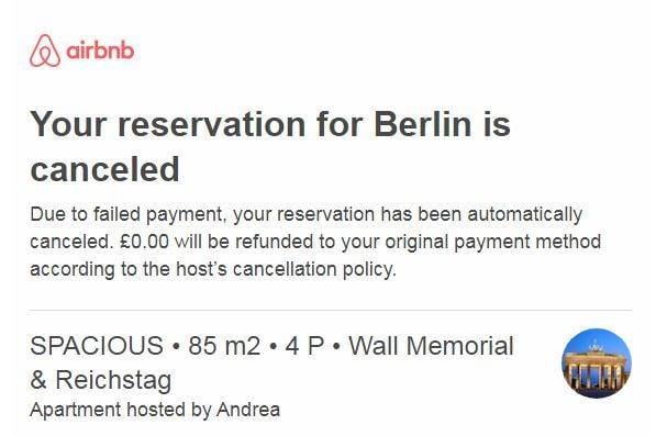 airbnb payment fail Archives - Airbnb Hell