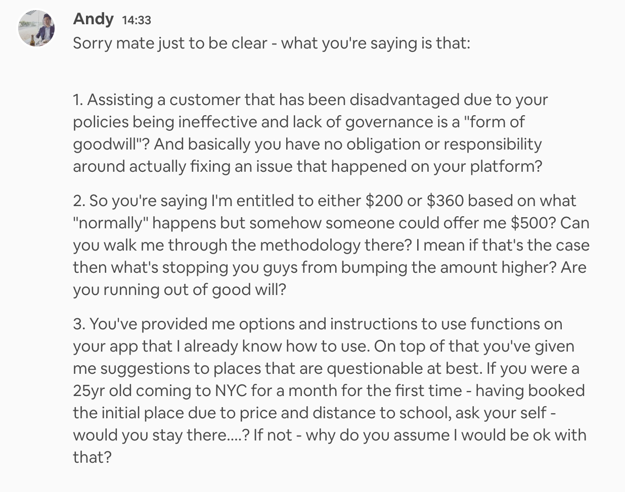 bad airbnb review Archives - Airbnb Hell
